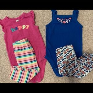 2 pairs of Carter's Outfit
